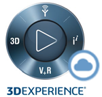 3D experience on cloud